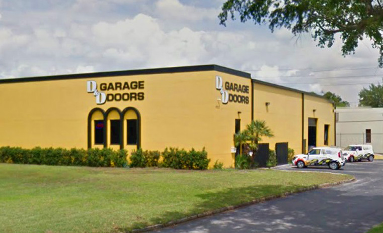 Florida garage door company d d garage doors for Garage doors orlando fl