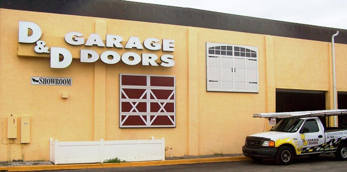 Sarasota Corporate Office D And D Garage Doors